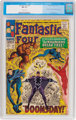 Fantastic Four #59 (Marvel, 1967) CGC NM 9.4 Off-white pages