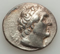Ancients:Greek, Ancients: PTOLEMAIC EGYPT. Ptolemy II Philadelphus (285-246 BC). ARtetradrachm (14.08 gm). Choice VF....