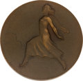 Miscellaneous Collectibles:General, 1948 St. Moritz Winter Olympics Participation Medal Attributed toPete Leichnitz....