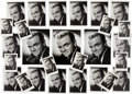 Movie/TV Memorabilia:Autographs and Signed Items, A James Cagney Huge Collection of 22 Signed Black and WhiteHeadshots, Circa 1960, 1970s....