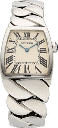 Estate Jewelry:Watches, Cartier Lady's Stainless Steel La Dona Watch. ...