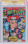 Modern Age (1980-Present):Superhero, The New Mutants #87 Signature Series (Marvel, 1990) CGC NM 9.4White pages....