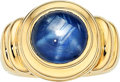 Estate Jewelry:Rings, Star Sapphire, Gold Ring, Murer The ring featu...