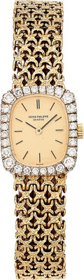 Patek Philippe Lady's Diamond, Gold Watch