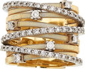 Estate Jewelry:Rings, Diamond, Gold Ring, Marco Bicego The ring feat...