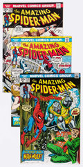 Bronze Age (1970-1979):Superhero, The Amazing Spider-Man Group of 48 (Marvel, 1973-79) Condition:Average VF.... (Total: 48 Comic Books)
