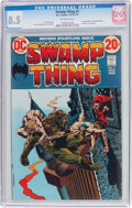 Bronze Age (1970-1979):Horror, Swamp Thing #2 (DC, 1973) CGC VF+ 8.5 Off-white pages....