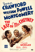 "Movie Posters:Crime, The Last of Mrs. Cheyney (MGM, 1937). One Sheet (27"" X 41"") StyleC.. ..."