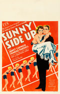 "Movie Posters:Comedy, Sunny Side Up (Fox, 1929). Window Card (14"" X 22"").. ..."