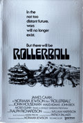 "Movie Posters:Science Fiction, Rollerball (United Artists, 1975). Mylar One Sheet (27"" X 40"")Advance, Bob Peak Artwork.. ..."