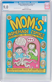 Mom's Homemade Comics #1 (Kitchen Sink, 1969) CGC VF/NM 9.0 White pages