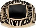 Football Collectibles:Others, 1977 Canadian Football League (CFL) Hall of Fame Ring Presented to Tommy Joe Coffee....