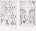 Original Comic Art:Miscellaneous, Alex Ross Kirby: Genesis #1 and 2 Cover Preliminary OriginalArt (Dynamite, 2011)....