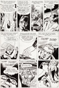 Original Comic Art:Panel Pages, Jack Kirby and Dick Ayers Tales of Suspense #24 Story Page 3Original Art (Marvel, 1961)....