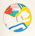 Prints & Multiples, Tom Wesselmann (1931-2004). Blonde Vivienne, 1988-89. Screenprint in colors on Museum Board. 56 x 57 inches (142.2 x 144...