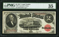 Large Size:Legal Tender Notes, Fr. 60 $2 1917 Legal Tender PMG Choice Very Fine 35.. ...