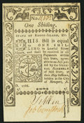 Colonial Notes:Rhode Island, Rhode Island May 1786 1s Choice New.. ...