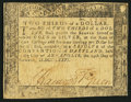 Colonial Notes:Maryland, Maryland August 14, 1776 $2/3 Very Fine.. ...