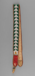 American Indian Art:Beadwork and Quillwork, A Northern California Loom-Beaded Belt...