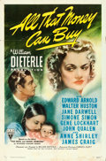 "Movie Posters:Drama, All That Money Can Buy (RKO, 1941). One Sheet (27"" X 41"") Style A....."
