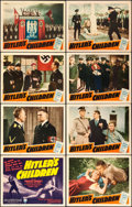 "Movie Posters:War, Hitler's Children (RKO, 1943). Lobby Card Set of 8 (11"" X 14"")..... (Total: 8 Items)"