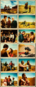 "Movie Posters:Western, The Searchers (Warner Brothers, 1956). Color Photo Set of 12 (8"" X 10"").. ... (Total: 12 Items)"