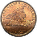1858 P1C Flying Eagle Cent, Judd-191, Pollock-233, R.5, PR64 PCGS....(PCGS# 11840)