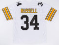 Football Collectibles:Uniforms, Andy Russell Signed Pittsburgh Steelers Jersey....
