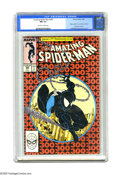Modern Age (1980-Present):Superhero, The Amazing Spider-Man #300 (Marvel, 1988) CGC NM 9.4 Off-white towhite pages. Origin and first full appearance of Venom. L...