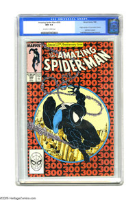 The Amazing Spider-Man #300 (Marvel, 1988) CGC NM 9.4 Off-white to white pages. Origin and first full appearance of Veno...