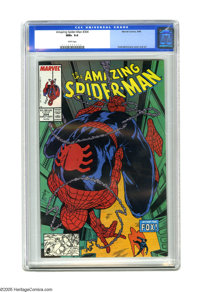 The Amazing Spider-Man #304 (Marvel, 1988) CGC NM+ 9.6 White pages. First bi-weekly issue. Cover and art by Todd McFarla...