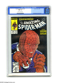 The Amazing Spider-Man #307 (Marvel, 1988) CGC NM+ 9.6 Off-white to white pages. Cover and art by Todd McFarlane. Overst...