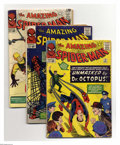Silver Age (1956-1969):Superhero, The Amazing Spider-Man #12 and 15-21 Group (Marvel, 1964-65) Condition: Average GD. Eight-issue group lot includes #12, 15 (... (Total: 8 Comic Books)