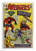 Silver Age (1956-1969):Superhero, The Avengers #2 (Marvel, 1963) Condition: GD. The Hulk leaves the Avengers. First appearance of the Space Phantom. Jack Kirb...