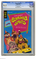 Bronze Age (1970-1979):Humor, Banana Splits #4 File Copy (Gold Key, 1970) CGC VF+ 8.5 Off-whiteto white pages. Photo cover. Overstreet 2005 VF 8.0 value ...