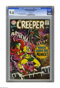 Beware the Creeper #1 (DC, 1968) CGC NM+ 9.6 White pages. Cover and art by Steve Ditko. Overstreet 2005 NM- 9.2 value =...