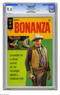 Silver Age (1956-1969):Western, Bonanza #32 File Copy (Gold Key, 1969) CGC NM 9.4 Off-white to white pages. Photo cover. Overstreet 2005 NM- 9.2 value = $80...