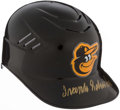 Autographs:Others, Frank Robinson Signed Baltimore Orioles Helmet. ...