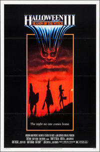 """Halloween III: Season of the Witch & Other Lot (Universal, 1982). One Sheets (2) (27"""" X 40.5, 27"""" X 41&quo..."""