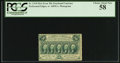 Fractional Currency:First Issue, Fr. 1310 50¢ First Issue PCGS Choice About New 58.. ...