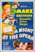 "Movie Posters:Comedy, A Night at the Opera (MGM, R-1948). One Sheet (27"" X 41""). Comedy....."