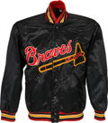 Baseball Collectibles:Uniforms, 1950's Dr. Charles Lacks Game Worn Milwaukee Braves Jacket. ...