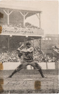 Baseball Collectibles:Photos, 1953 Honus Wagner Signed Photograph....
