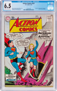 Action Comics #252 (DC, 1959) CGC FN+ 6.5 Cream to off-white pages