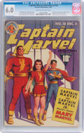Golden Age (1938-1955):Superhero, Captain Marvel Adventures #18 (Fawcett Publications, 1942) CGC FN 6.0 Cream to off-white pages....