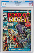 Bronze Age (1970-1979):Horror, Dead of Night #1 (Marvel, 1973) CGC NM/MT 9.8 Off-white to whitepages....