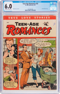 Teen-Age Romances #25 (St. John, 1952) CGC FN 6.0 Off-white to white pages
