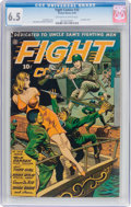 Golden Age (1938-1955):War, Fight Comics #33 (Fiction House, 1944) CGC FN+ 6.5 Off-white to white pages....