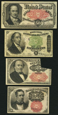 Fractional Currency:Fifth Issue, Fourth and Fifth Issues.. ... (Total: 4 notes)