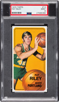 Basketball Cards:Singles (1970-1979), 1970 Topps Pat Riley #13 PSA Mint 9 - None Higher....